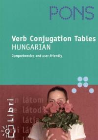 Livre de conjugaison Verb Conjugation Tables: Hungarian chez PONS