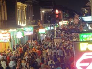 La Nouvelle-Orléans : Bourbon Street